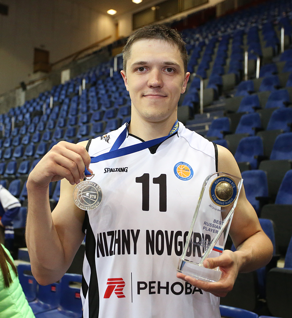Семен Антонов — лучший российский игрок Лиги ВТБ-2013/2014